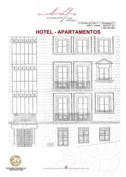 Descripcion apartamentos
