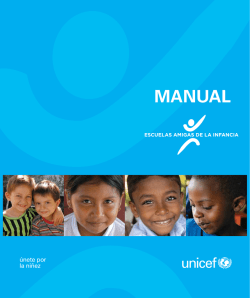 Child Friendly Schools Manual SP 05282009