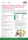 Convocatoria Preinscripciones 2015 - sepdf