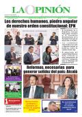 Versión Impresa - La Opinión :: Diario de la Mañana