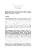 Discurso de Andrés Recasens Salvo. - Facultad de Ciencias Sociales