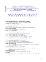 INDICE DE AUTORES Y TÍTULOS - Revista de Temas Nicaragüenses
