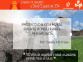 Protección Corporal Frente a Materiales Peligrosos / Sandy Moncayo