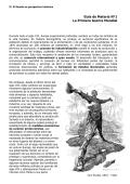 Guía de Materia N°1 La Primera Guerra Mundial - Sala de Historia