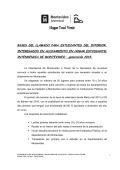 Bases de Tocó Venir - del INJU