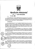 Resolución Ministerial N° 339-2014-MINAM - Ministerio del Ambiente