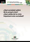 ¿Qué sociedad saldrá de la actual crisis? ¿Qué salida de - Foessa