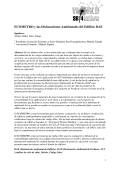 ECOMETRO y las Declaraciones Ambientales del Edificio DAE