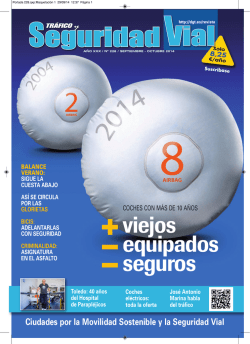 Descargar PDFarrow_right - Revista de Tráfico - Dirección General