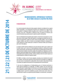 Tercera Circular y programa - Facultad de Periodismo y