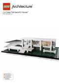 La Casa Farnsworth House™ - Lego