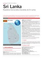 Sri Lanka - Ministerio de Asuntos Exteriores y de Cooperación