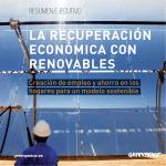 la recuperación económica con renovables - Greenpeace