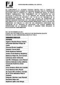 HORARIO: 9:00 A.M. NOMBRE Aguirre Montiel - PGJ Querétaro
