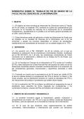 Normativa TFG Ciencias de la Información - Facultad de Ciencias