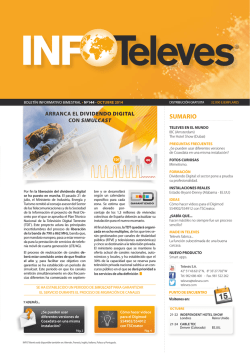 Info Televés 144 - Televes