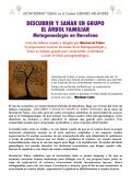 Más información sobre el ciclo de Metagenealogía - Plano sin fin