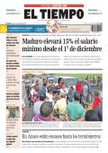 Maduro elevará 15% el salario mínimo desde el 1° de - El Tiempo