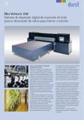 Rho Vetrocer 250 Sistema de impresión digital de inyección de tinta