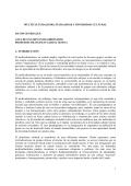 multicult, pluralidad y divers cultur - Facultad de Ciencias Políticas y