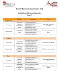 Maratón Nacional de Conocimientos 2014 Resultados de - FCA