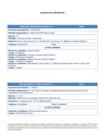 AGENCIAS DE SUSCRIPCIÓN - Dirección General de Seguros