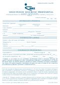 solicitud de seguro rc profesional - conozca más de nuestro trabajo