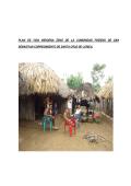 plan de vida indigena zenú de la comunidad finzenú de san