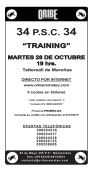 "34 PSC 34 ""TRAINING"" - Oribe Remates"