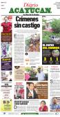 EL PATIO DEL HORROR Javier Duarte - Diario de Acayucan