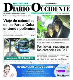 1 paginaOKMori.qxd - Diario Occidente