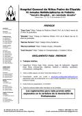 Reglamento Trabajos a Premio - Hospital de Niños Pedro de Elizalde