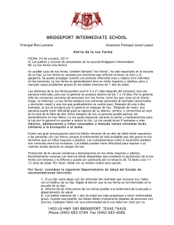 BRIDGEPORT INTERMEDIATE SCHOOL - Bridgeport ISD