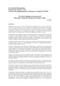 El rol de la familia en los procesos de Educación y Desarrollo