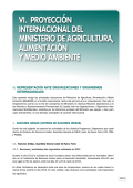 Agricultura, Alimentación y Medio Ambiente en España