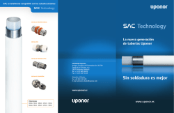 Catálogo Uni Pipe PLUS - Uponor