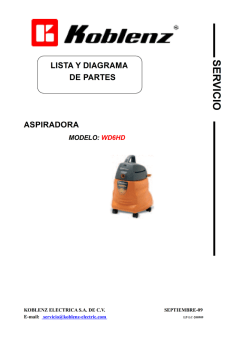 Diagrama Manual WD6HD