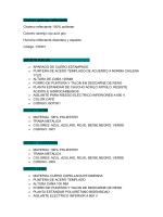 Productos - Amaranto Chile