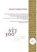 Menú Carmelitano - Reservas de Segovia