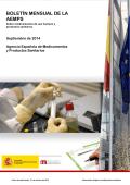 Obtener el boletín mensual en formato pdf - Agencia Española de