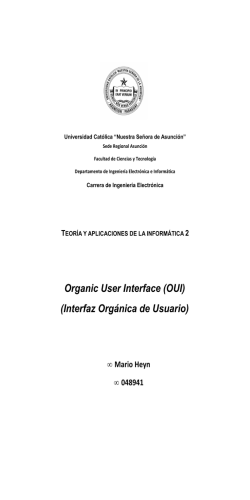 Organic User Interface (OUI) (Interfaz Orgánica de - JeuAzarru.com