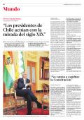 """""""Los presidentes de Chile actúan con la mirada del - Papel Digital"""