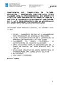 """""""La transcendencia del Camino de Santiago como - Inicio - - USC"""