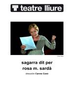 dossier (pdf) - Teatre Lliure