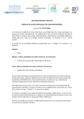 programa completo de actividades - Casa Mediterráneo