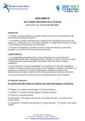 Reglamento General JNJ 2014 - Federación Uruguaya de Ajedrez