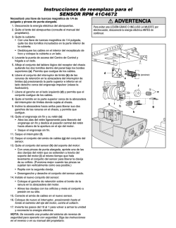 ADVERTENCIA ADVERTENCIA RTENCIA - LiftMaster