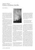 Carta a Helmut Jacobs - Revista de la Universidad de México - UNAM