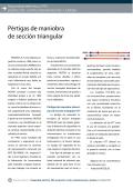 Pértigas de maniobra de sección triangular - Editores SRL