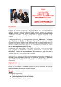 Jueves 23 de Octubre 2014 - Universidad Nacional Federico Villarreal